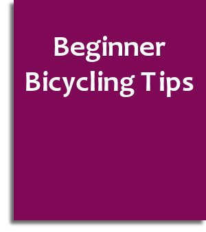 beginner bicycling tips ebook cover