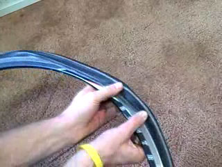 fix flat tire video