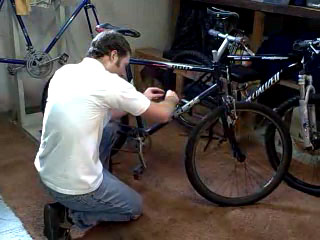install bottle cage video