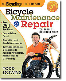 bicycling magazine guide to repair and maintenance