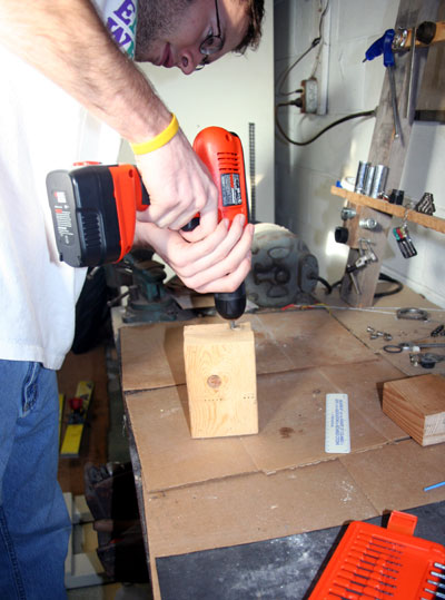 drilling holes for quick-release